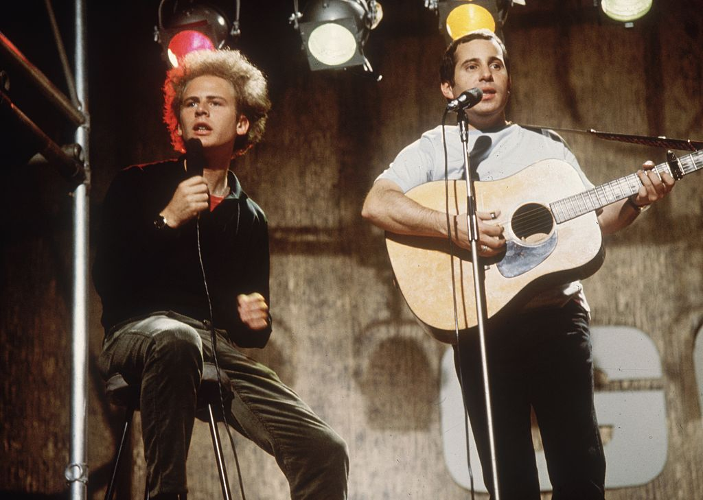 Pop duo Simon and Garfunkel