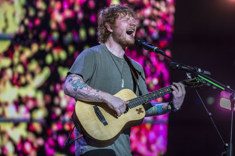 Ed Sheeran Brisbane Australia 2015
