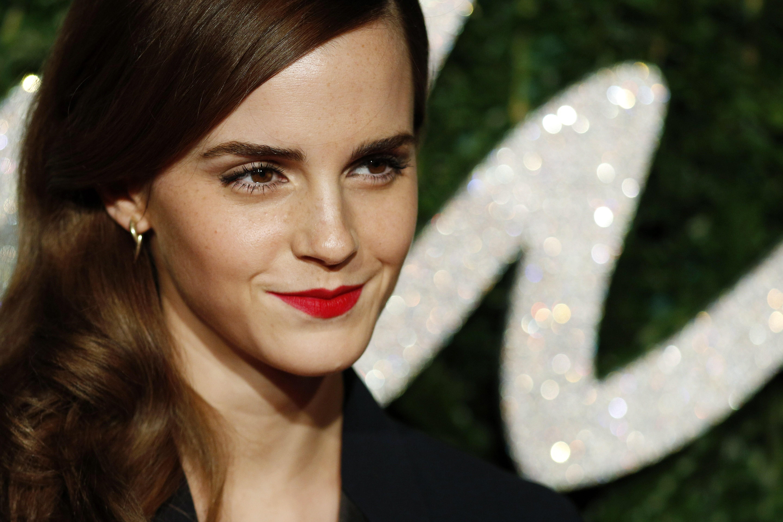 Emma watson british fashion awards 2014