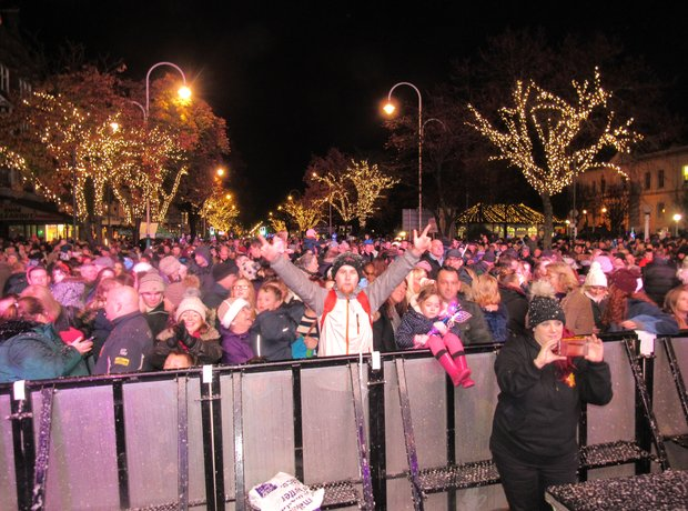Southport switch on