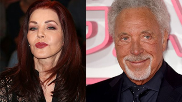 Tom Jones And Priscilla Presley Are Enjoying Nights Out