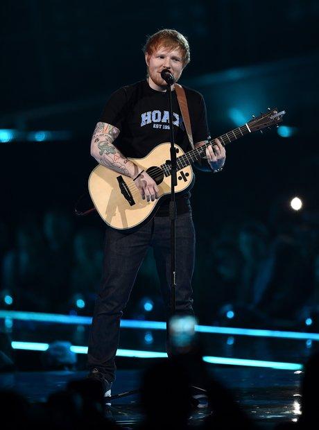 Ed Sheeran BRITS 2017