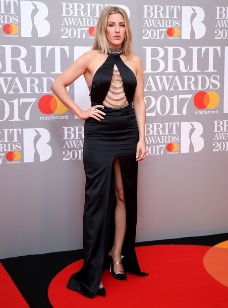 Ellie Goulding BRITs 2017 Red Carpet Arrivals