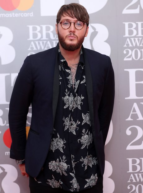 James Arthur BRITs 2017 Red Carpet Arrivals