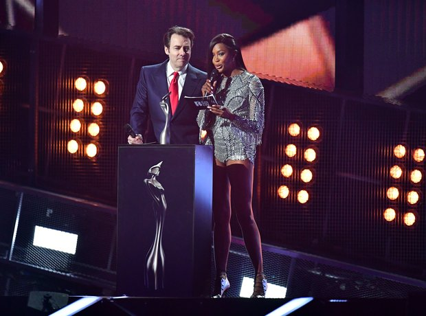Naomi Campbell and Jonathan Ross Global Success Aw