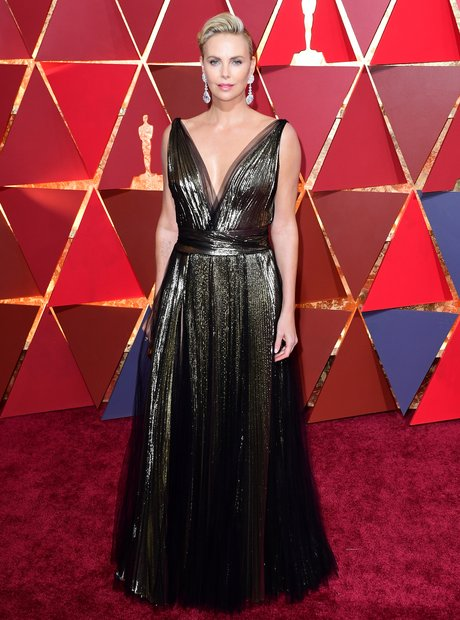 Charlize Theron at the Oscars 2017