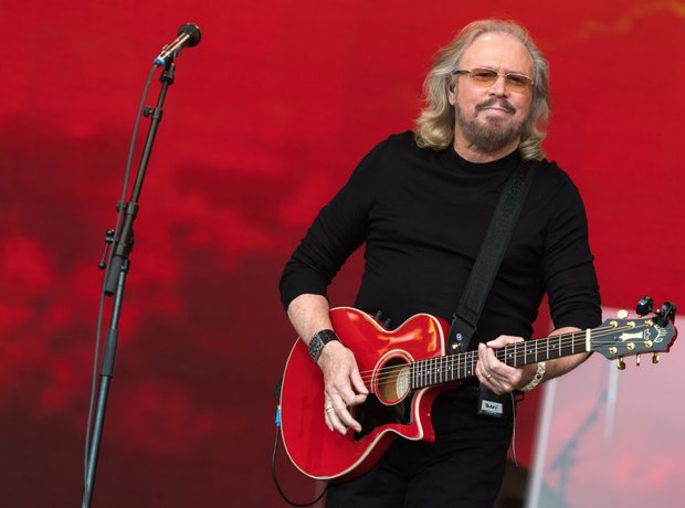 Barry Gibb Glastonbury Legends slot 2017