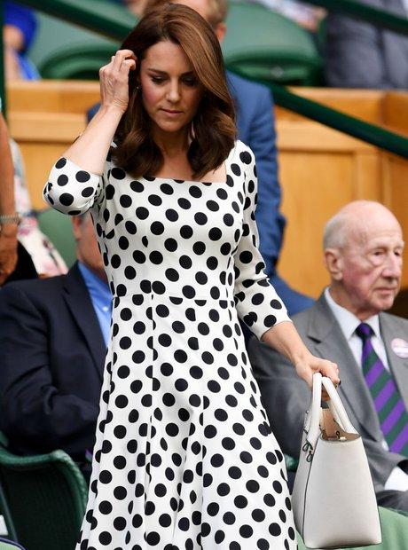 Celebrities At Wimbledon 2017