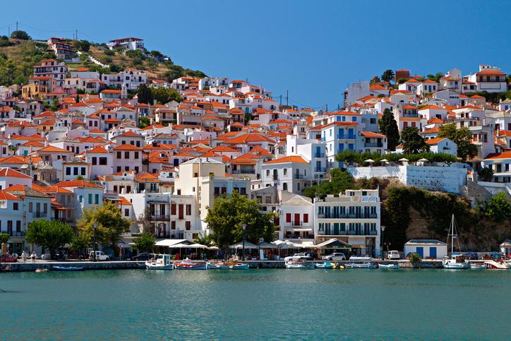 Greek island Skopelos Mamma mia