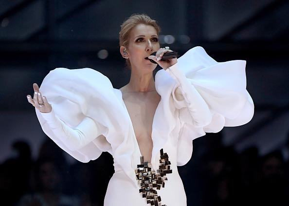 Celine Dion singing 2017