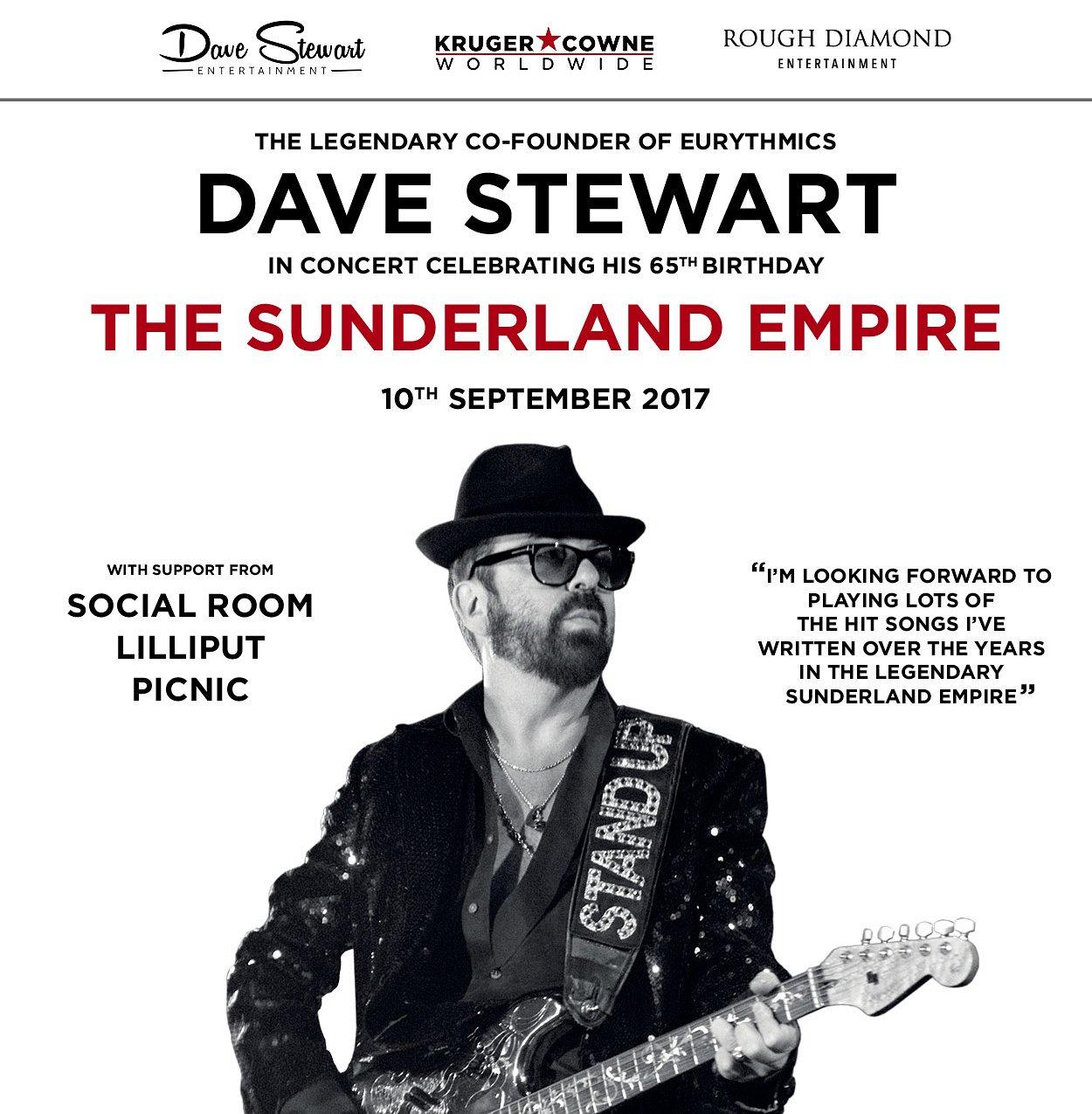 Dave Stewart poster