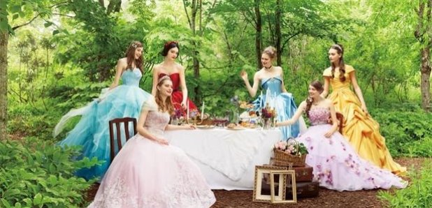 Disney Launches A New Range Of Princess Wedding Dresses
