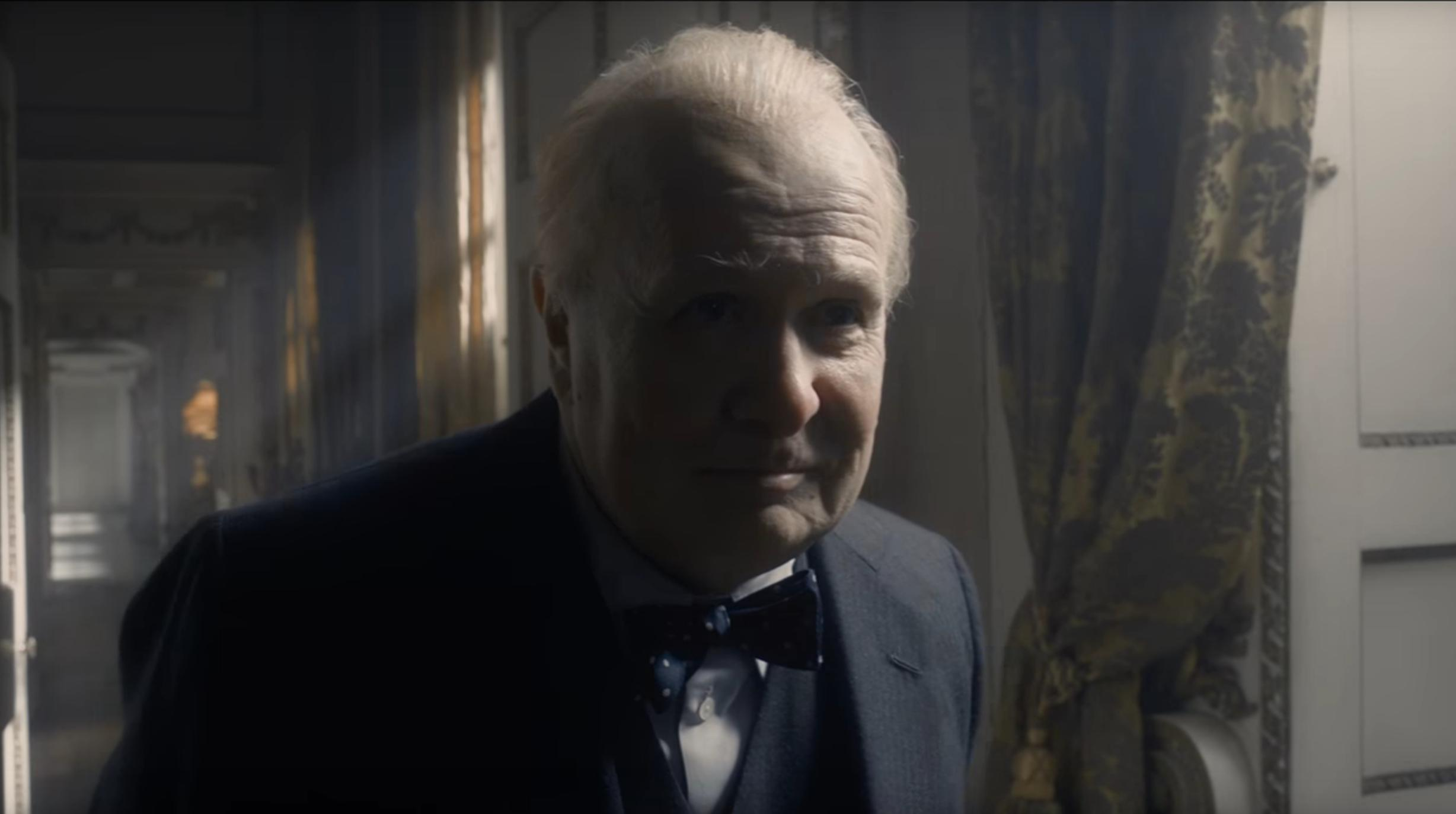 Gary Oldman in Darkest Hour Churchill War film