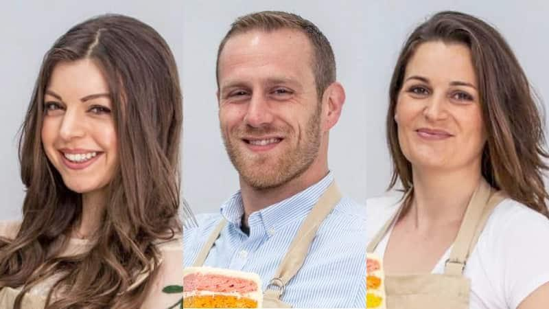 Bake Off finalists 2017