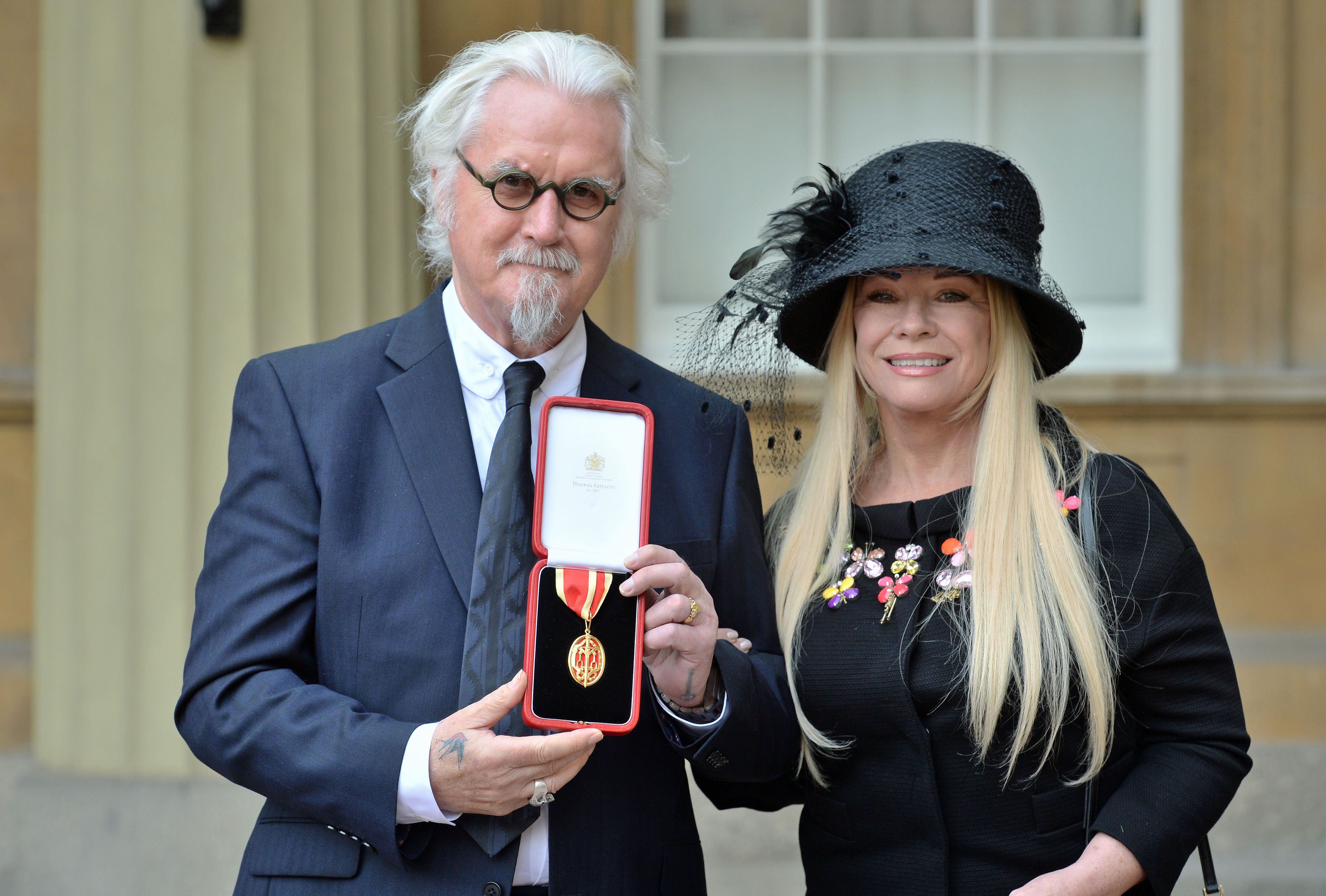 Billy Connolly knighted