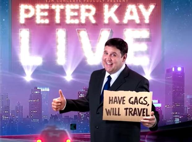Peter Kay Live tour image
