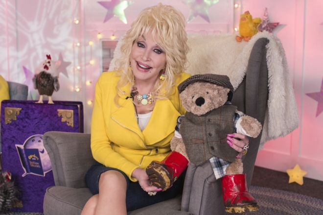 Dolly Parton CBeebies