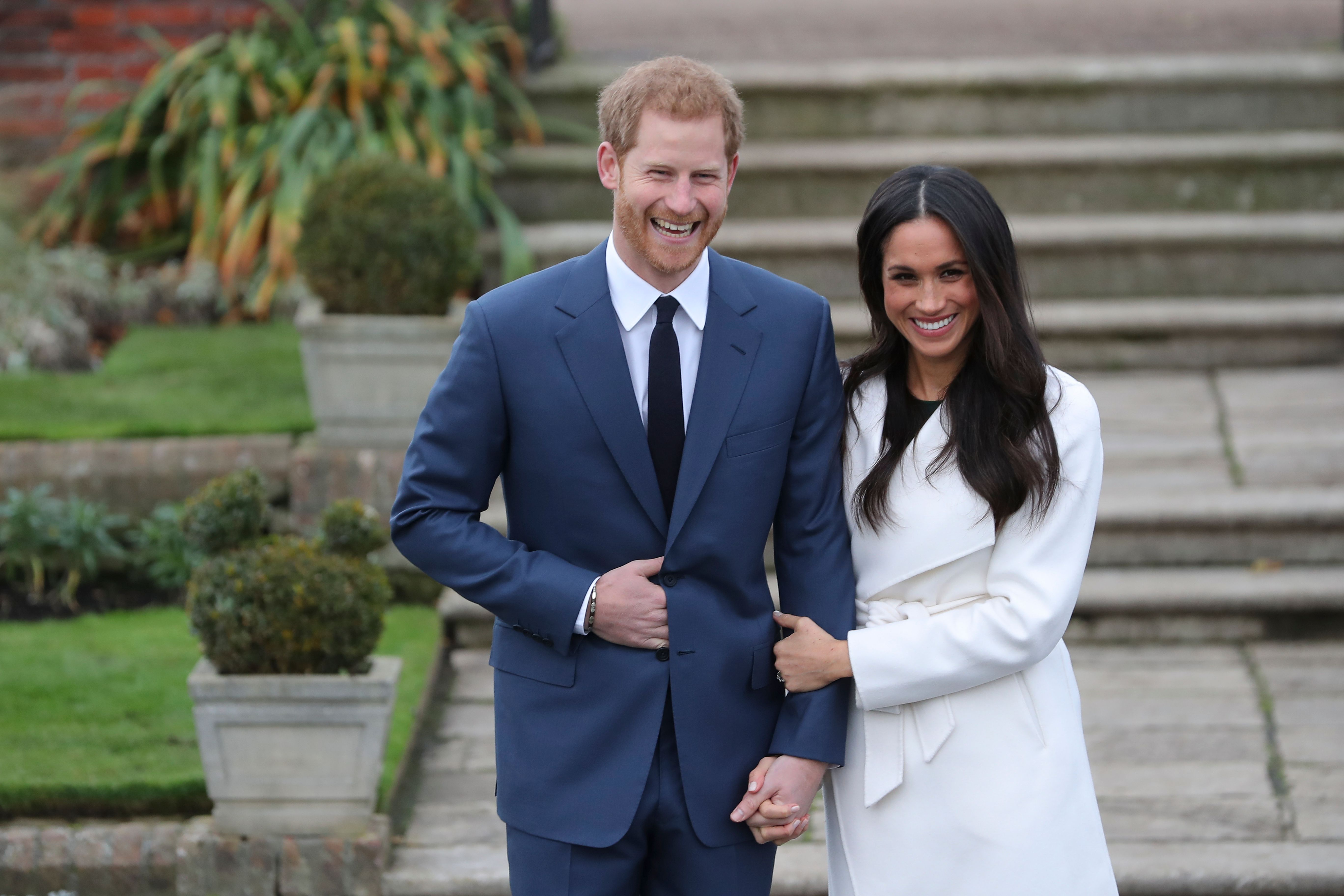 Prince Harry and Meghan Markle annouce engagement