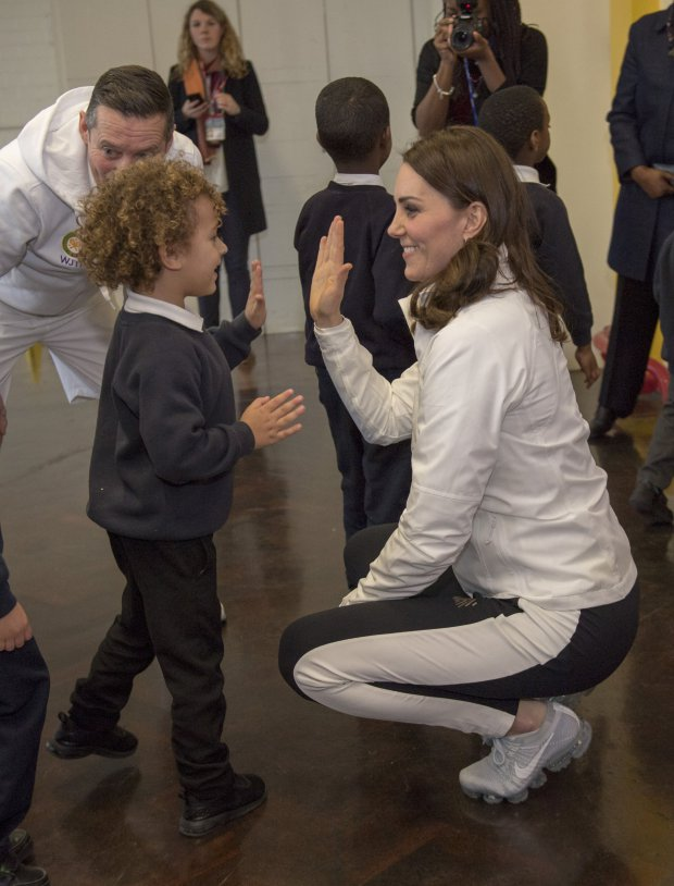 Kate Middleton visiting GOSH
