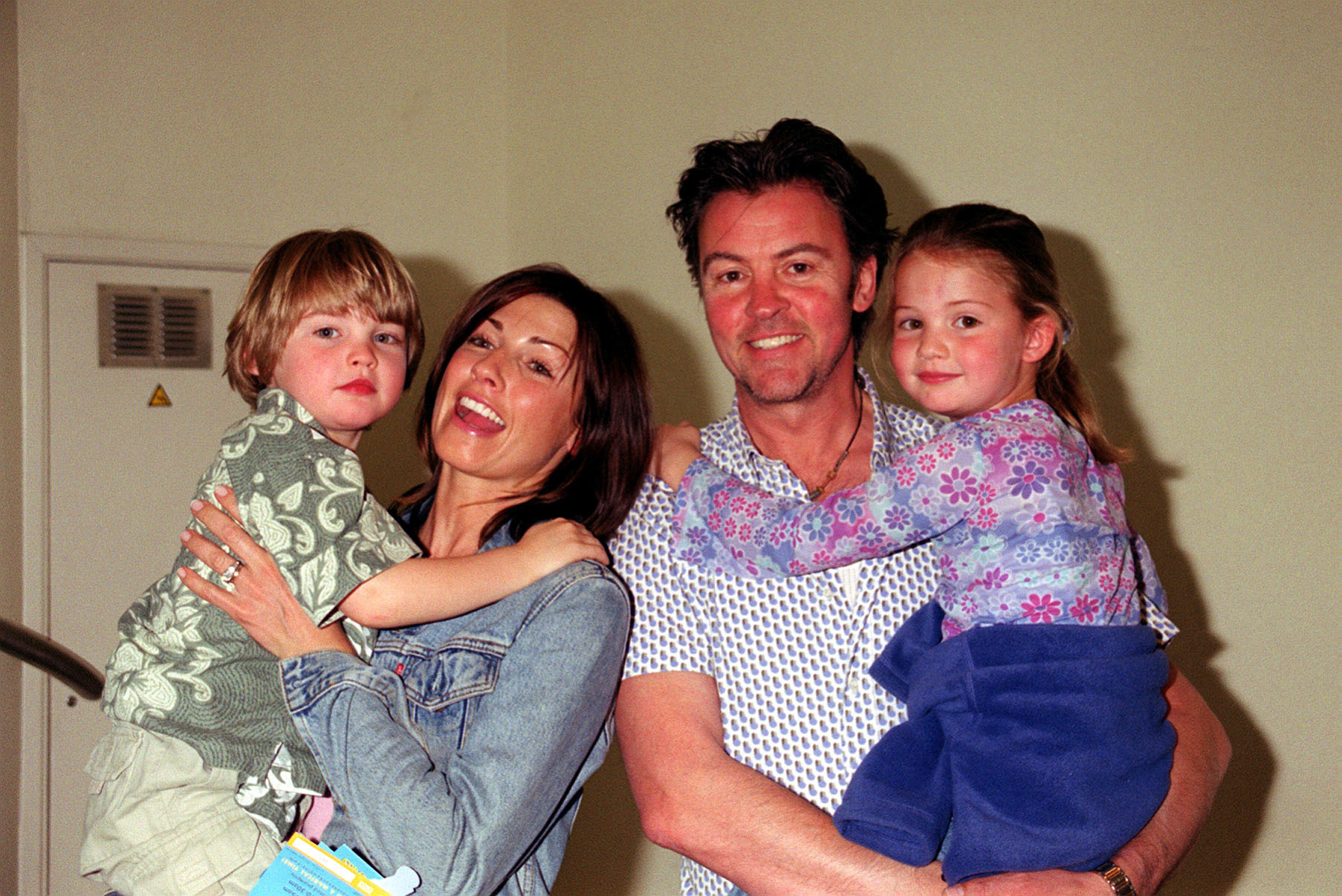 Paul Young and wife Stacey