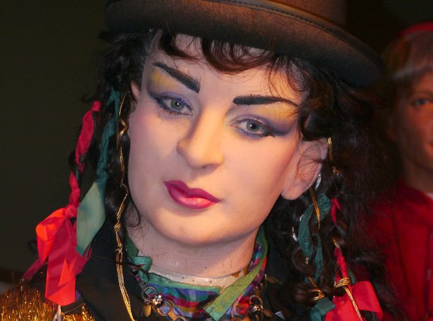 Boy George waxwork