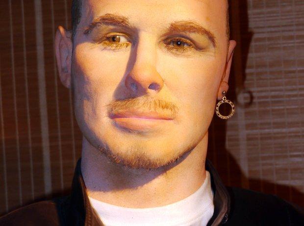 David Beckham waxwork
