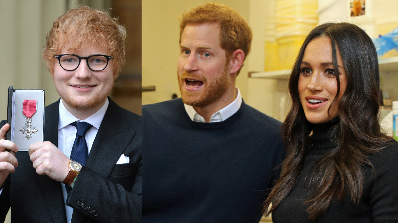 Ed Sheeran / Harry and Meghan
