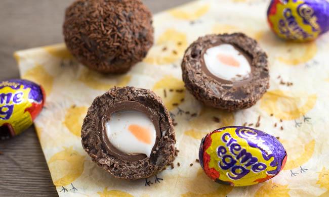 Scotch Creme Eggs
