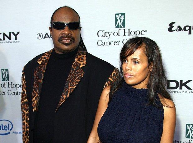 Stevie Wonder and ex-wife Kai Millard