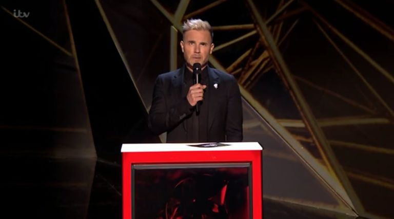 Gary Barlow at Brit Awards 2018