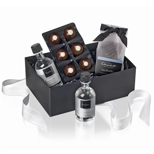 Chocolate and gin hamper