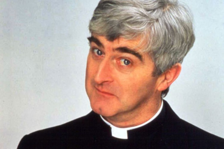 Dermot Morgan in Father Ted