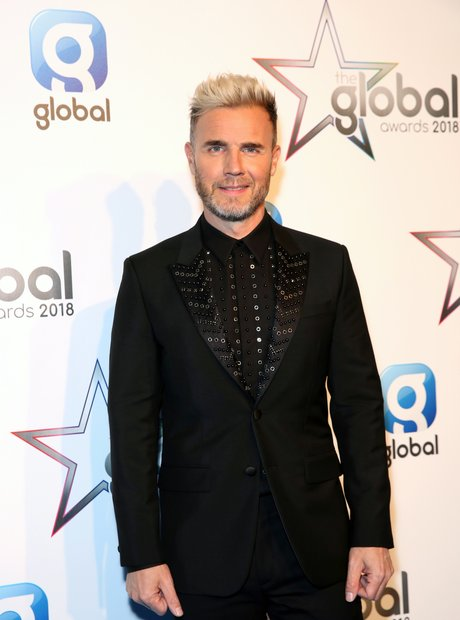 Gary Barlow Global Awards 2018 backstage