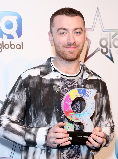 Sam Smith Global Awards 2018 backstage