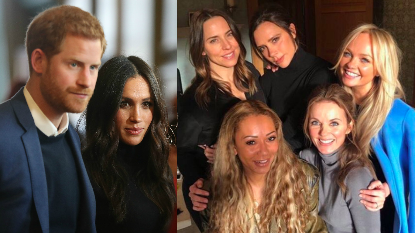 Spice Girls / royal wedding