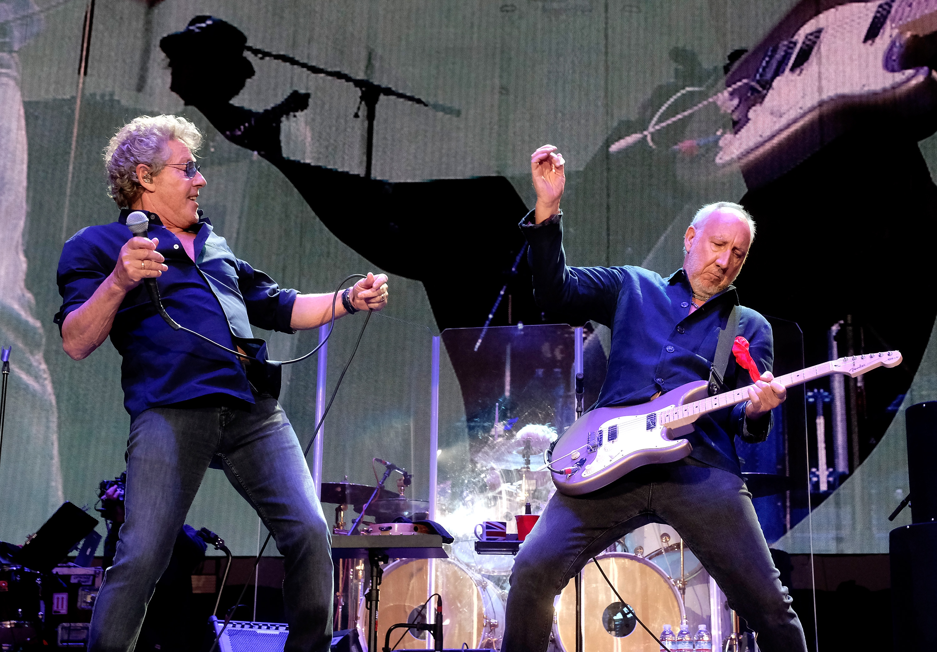 The Who - Roger Daltrey and Pete Townshend