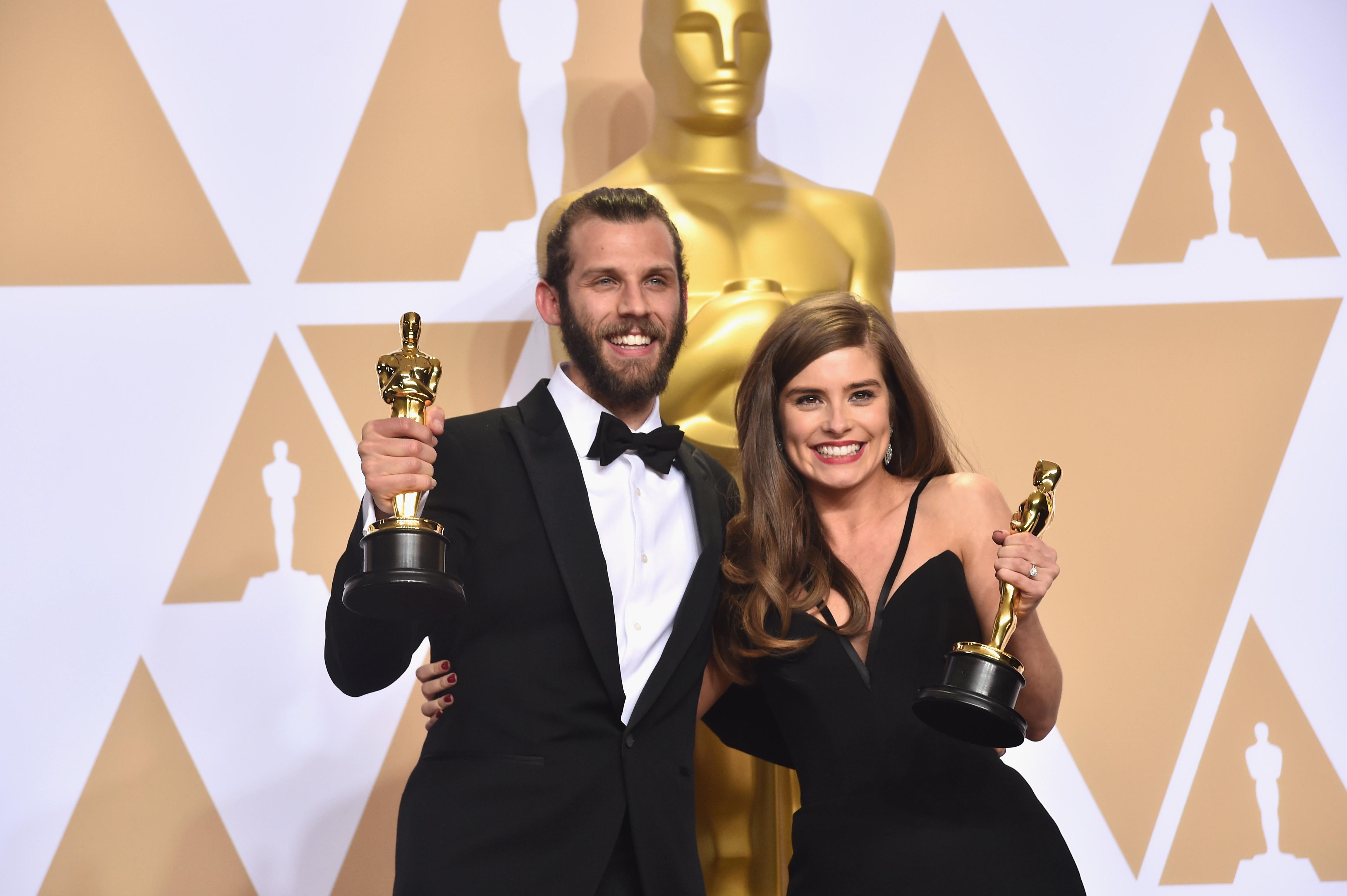 Rachel Shenton Oscars win