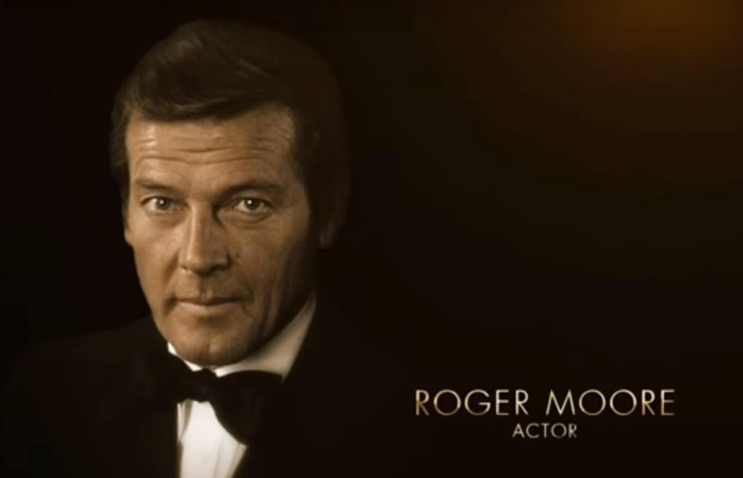 Roger Moore - oscars tribute