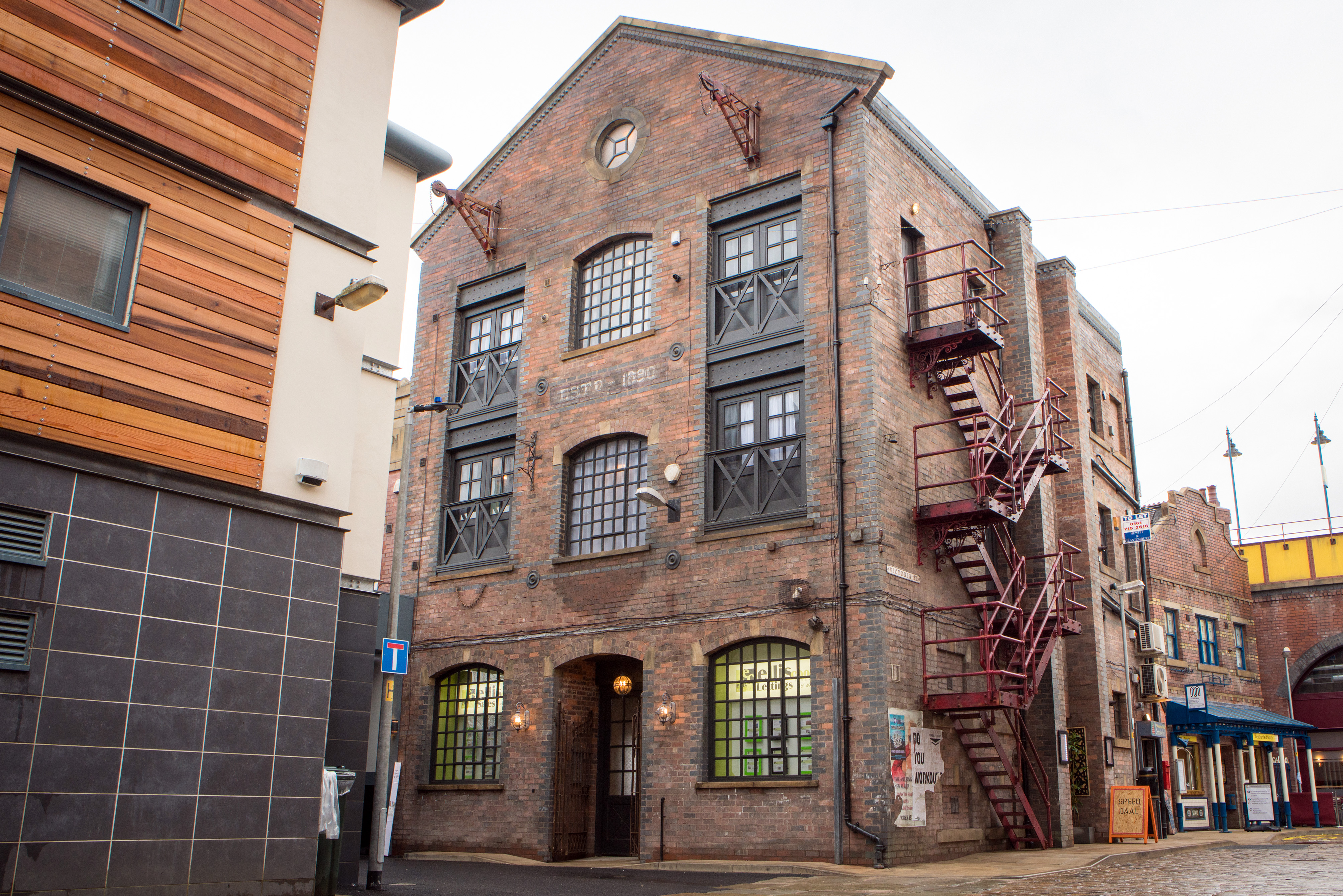 Coronation Street new sets 2018