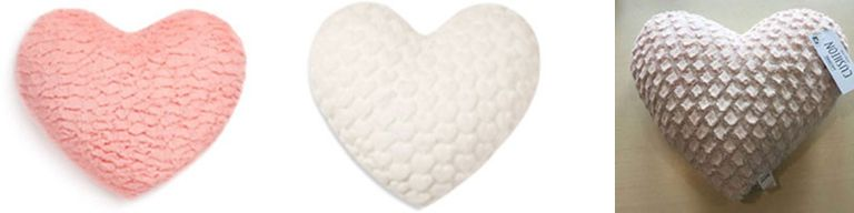 Primark heart cushions
