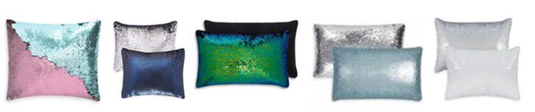 Primark sequin cushions