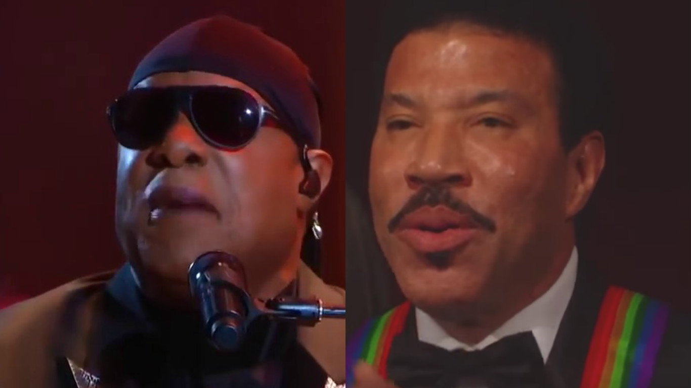 Stevie Wonder / Lionel Richie