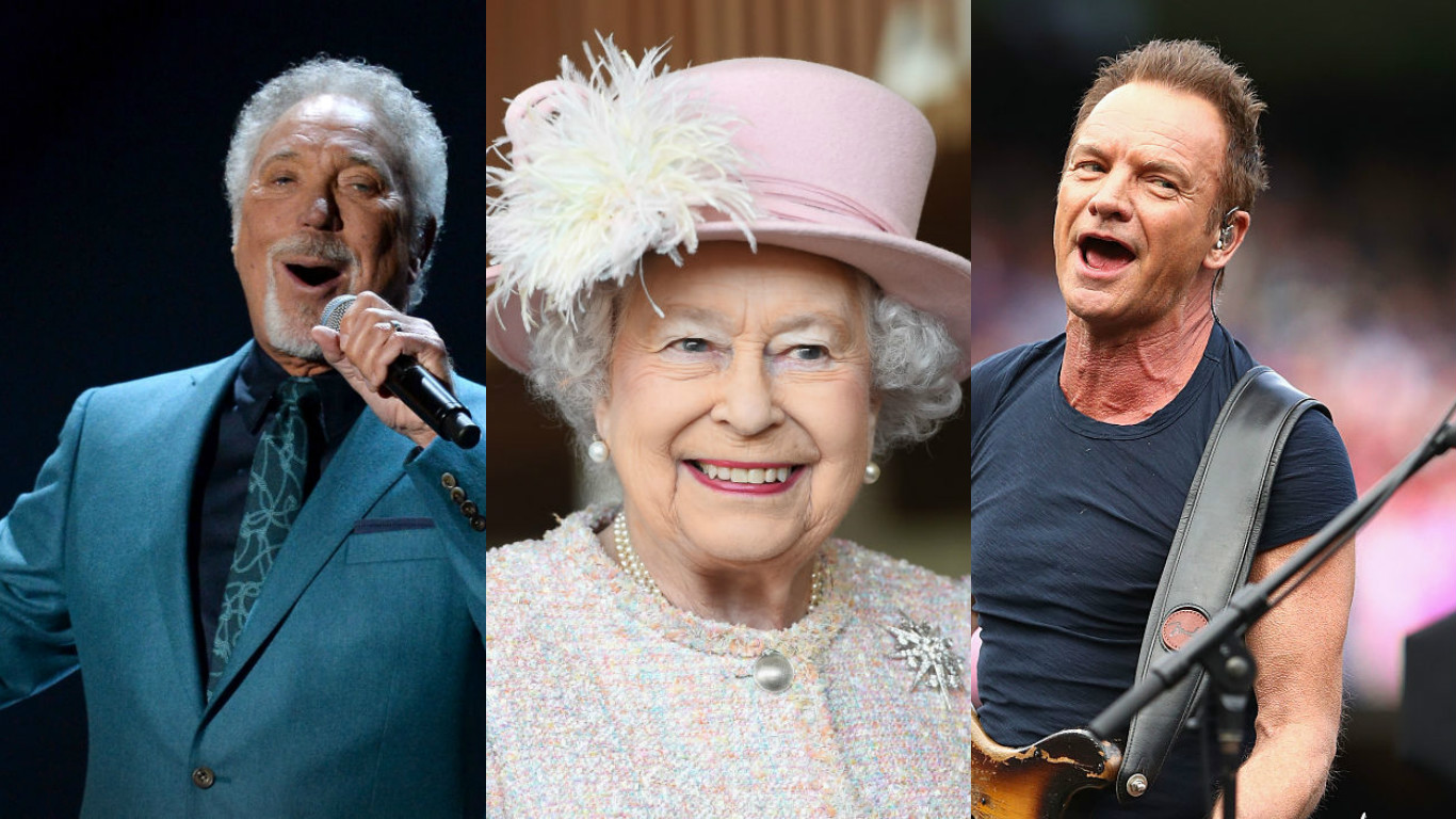 Tom Jones Sting And Shaggy Will Perform At The Queens 92nd
