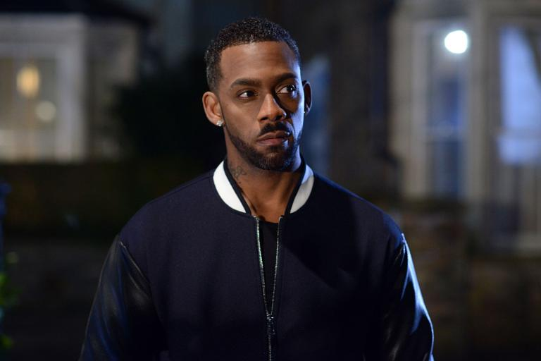 Richard Blackwood in Eastenders