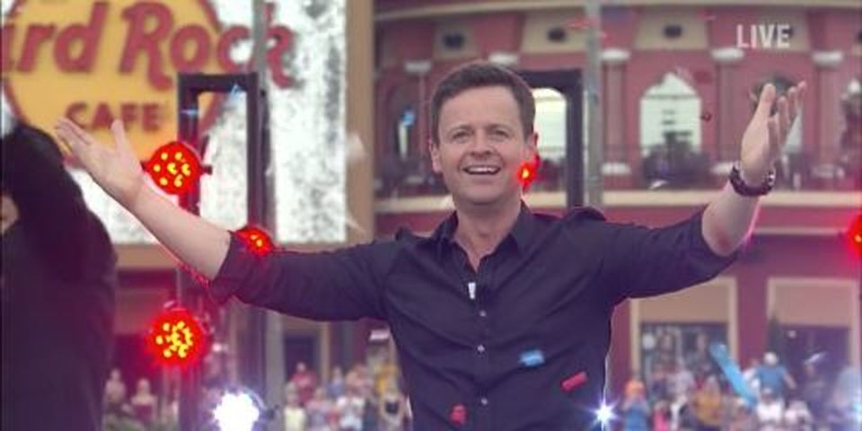Dec on Saturday Night Takeaway