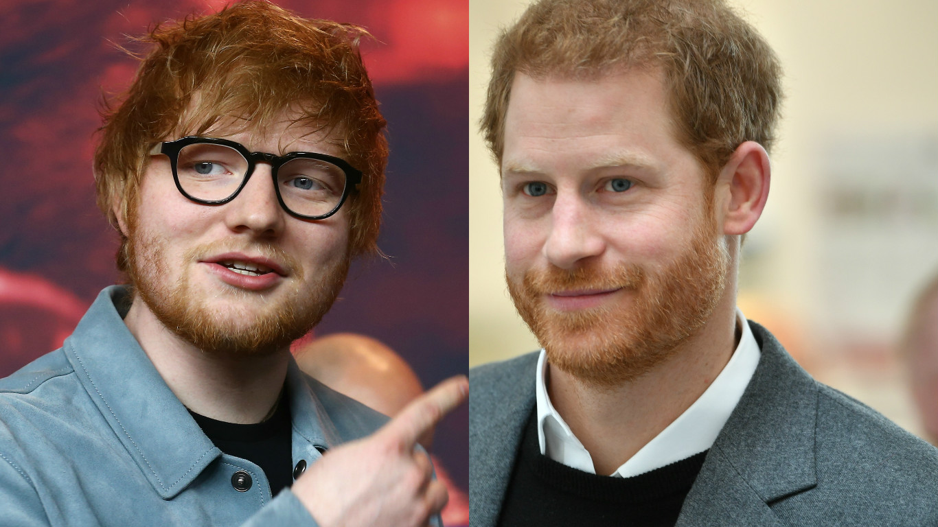 Ed Sheeran / Prince Harry
