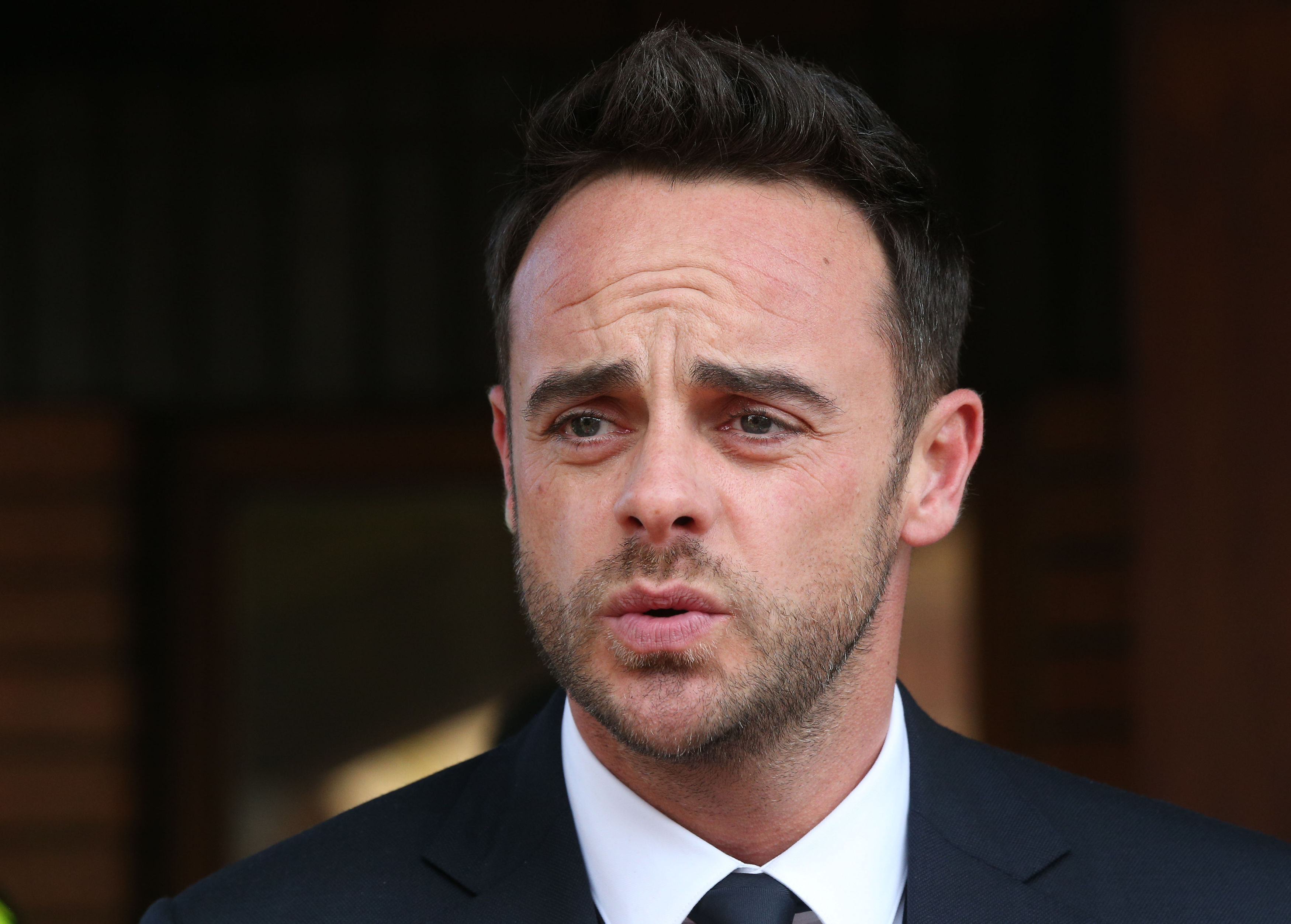 Ant McPartlin in court