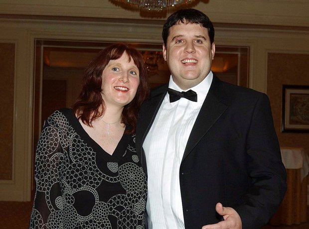 Peter Kay and wife Susan