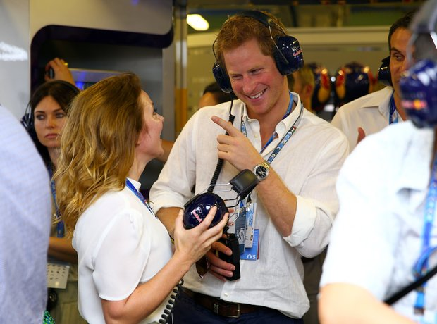 Prince Harry and Geri Horner