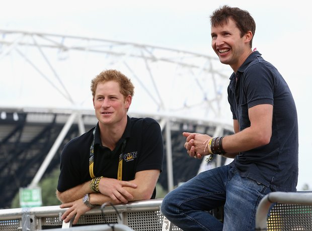 Prince Harry and James Blunt
